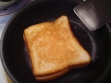 Healthy oven-fried sandwich is an easy, somewhat healthy main dish. Enjoy!