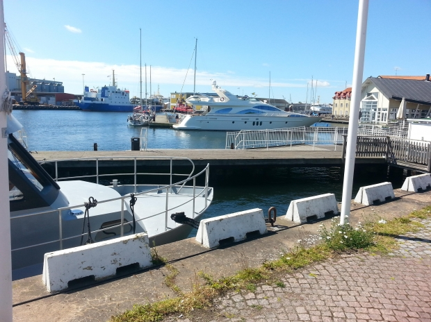 Alleged Swedish marina.