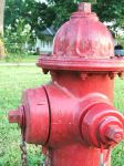 Fire hydrant used in the fire. (Fire Photo)