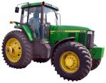 Wanted: This tractor is sought in an incident.