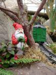 Gnome for the holidays. (Gnome Chomsky)