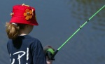 Bass Lake youthette Lilly-Ethan Tolbert, 9, is the top-seeded competitor in an upcoming fishing challenge (Lake-stock photo)