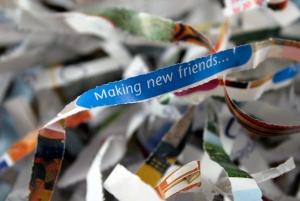 """Making New Friends"" is probably not the new theme of the new mayor's administration. (Just guessing)"