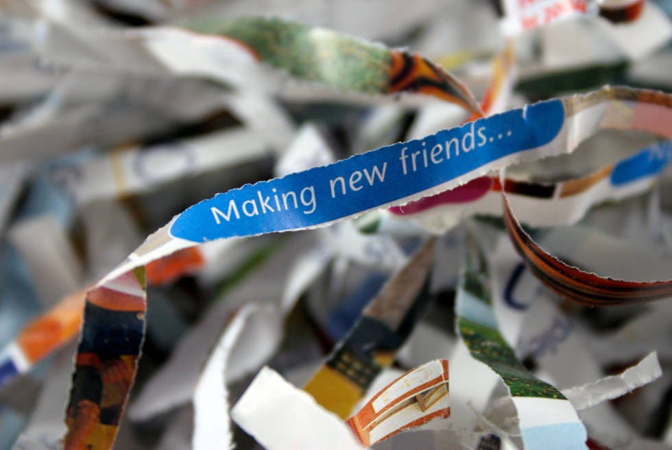 """""""Making New Friends"""" is probably not the new theme of the new mayor's administration. (Just guessing)"""