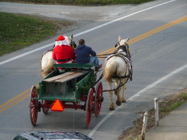 Santa wagon